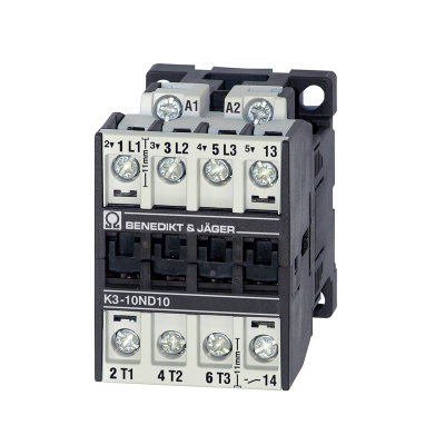 Benedikt and Jager K310ND10 High Temp - Heavy Duty Compact Contactor