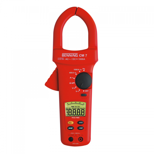 Benning CM-7 Digital Current Clamp Multimeter