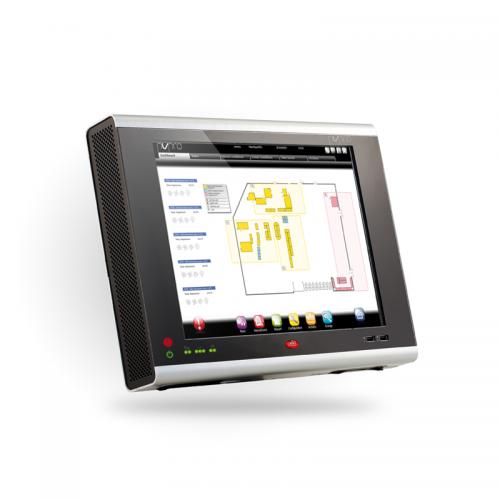 CAREL PlantVisorPRO Supervisory and Monitoring system screen