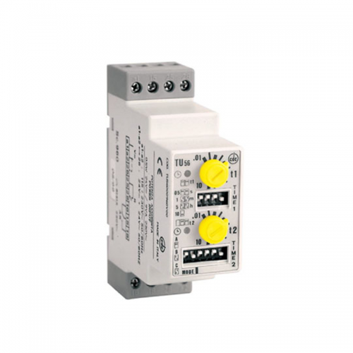 CDC TU56 DIN-Modular Asymmetrical Multifunction Timer