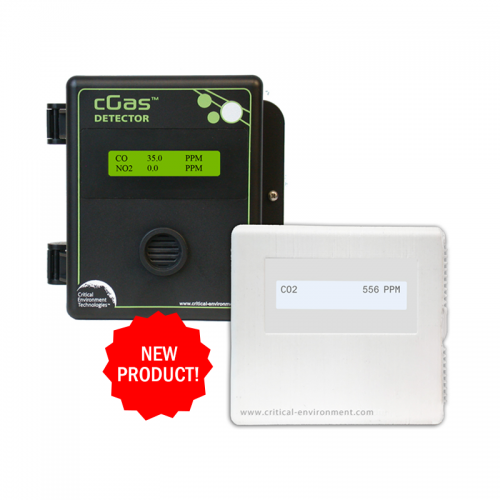 Critical Environment Technologies (CETCI) NEW! cGAS Detectors