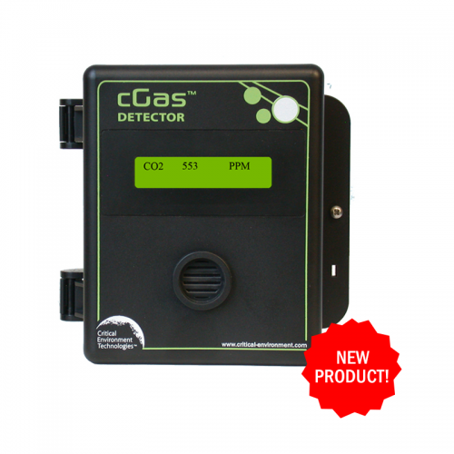 Critical Environment Technolgies (CETCI) cGas Detector Carbon Dioxide Transmitter