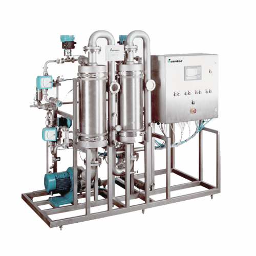 Centec DECARBONATOR System for reduction of CO2 content of beer and beer-based mixed drinks