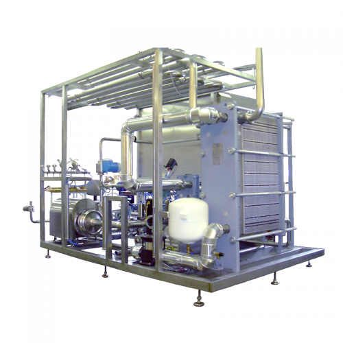 Centec Flash Pasteurizer System for removal of harmful microorganisms in beer and beer-based mixed drinks