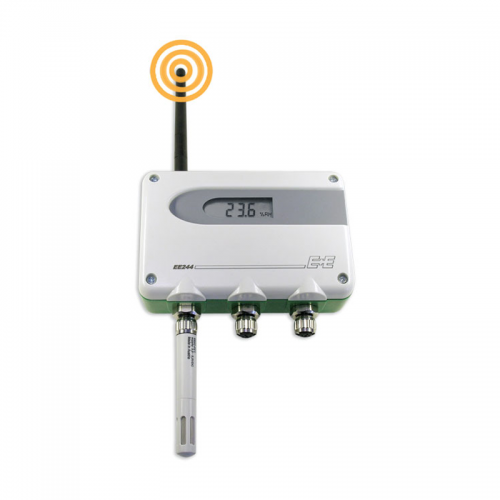 E+E EE244 Wireless transmitter humidity and temperature