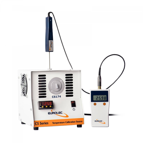 Eurolec CS174 Calibrator for contact and non-contact(infrared) thermometers, 40.0°C-below ambient to +85.0°C