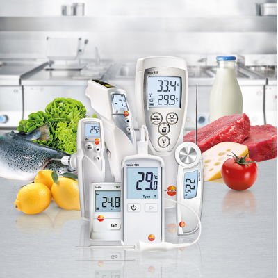 Eurotec Ltd Testo Food Safety Instruments, HACCP Certified