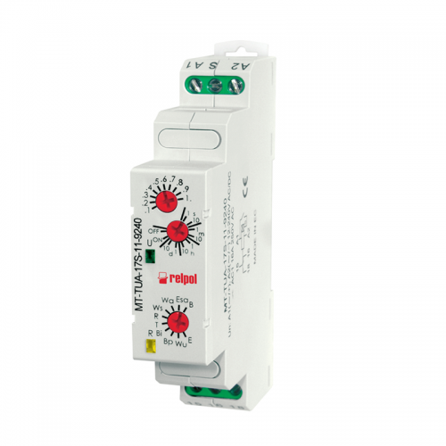 Relpol MT-TUA-17S-11 Multifunction and Multi voltage Process Timer