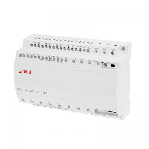 Relpol NEED 230AC 18 8R. Programmable Relay with 8 Relay Outputs