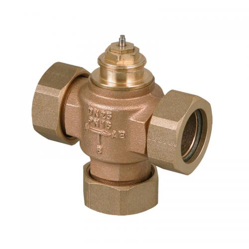 Sauter 3-way unit valve