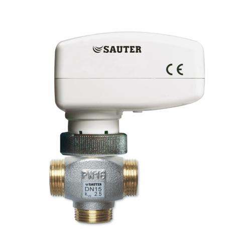 Sauter AXM Actuator with valve