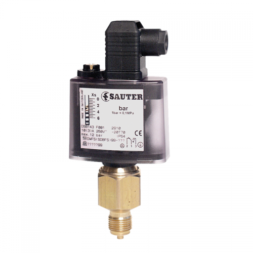 Sauter DSB140F001 Pressure Switch 0-2.5 bar, IP65