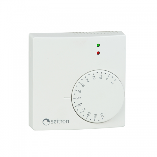 Seitron TAEZN4MC Electronic Wall Thermostat + LEDs