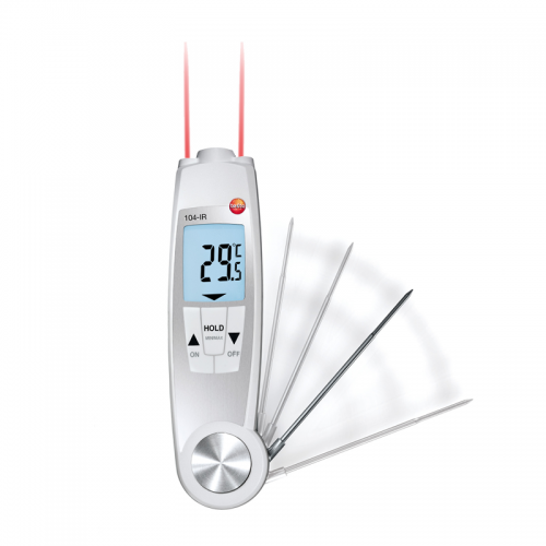Testo 104-IR Combination Probe and Infrared Food Thermometer