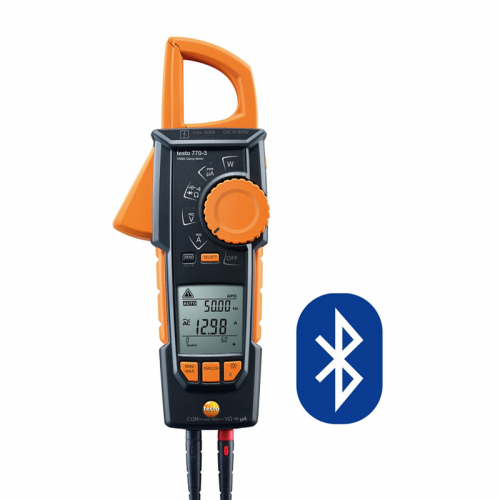 Testo 770-3 Bluetooth Clamp Meter