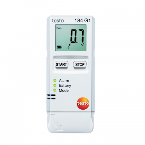 Testo 184-G1, Transport Data Logger, Temperature, Humidity and Shock