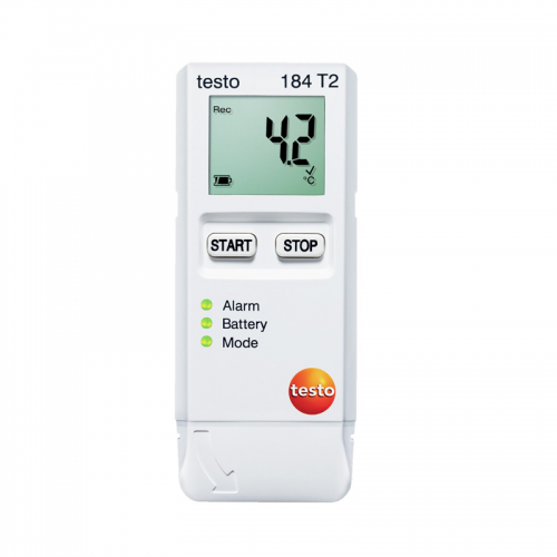 Testo-184-T2, Transport Data Logger with Start Stop Function